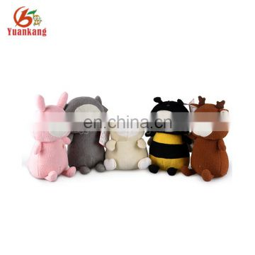 EN71 wholesale lovely soft toy brown plush deer for baby