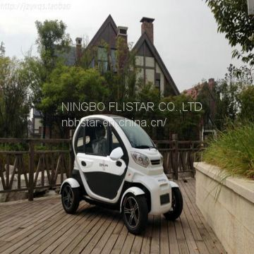 2017 new version high quality 2 seats air conditioning EEC approval L6e electric mini car