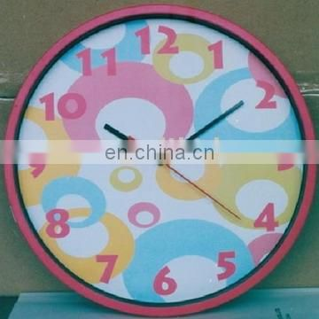 Cheap wall clock for home decoration
