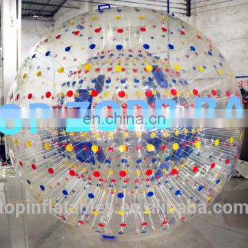 Hot selling soccer human sized hamster bubble ball with En14960/EN15649