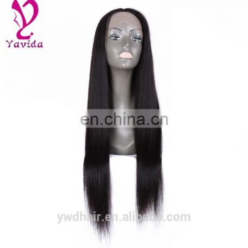 Lace Front Human Hair Wigs 100% Virgin Peruvian Long Straight Human Hair Glueless Full Lace Wig With Baby Hair For Black Women