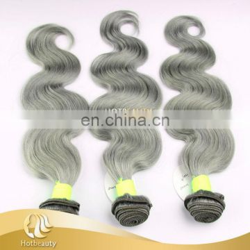 "HotBeauty Hair New Arrives Body Wave 12""-26"" 7A Grey Hair"