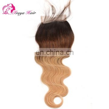 Hot selling top brazilian hair hair closure brazilian hair with closure