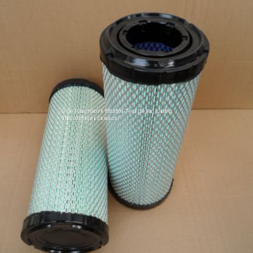 excavator Hyundai   AIR FILTER ELEMENTS for DONALDSON 11FK-20080 11M8-20120 AF25436 129062-12560 P822768 14519261