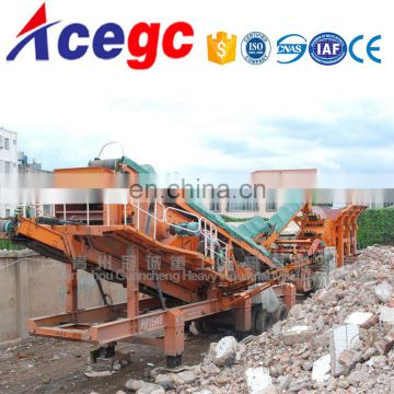 Crushing station movable crushing,screening station plant for sale