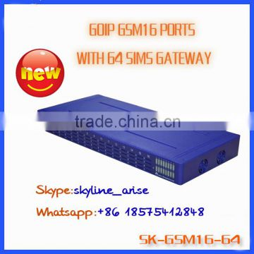 most popular band gsm850/900/1800/1900mhz sim box gsm gateway 32 ports 128 sim card slots                                                                                                         Supplier's Choice