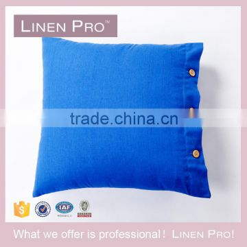 Linen Pro Cushion Cover /Luxury Hotel Square Cotton Linen Cushions Covers Throw Pillow Covers