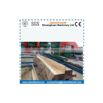 host-seling double saw blade angle sawmill for wenge