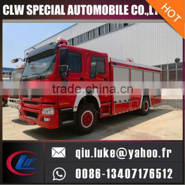 stainless steel material fire fighting truck for sale