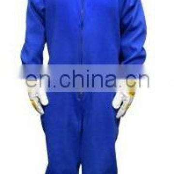 High Performance FR Cotton Welding Coverall With Hood