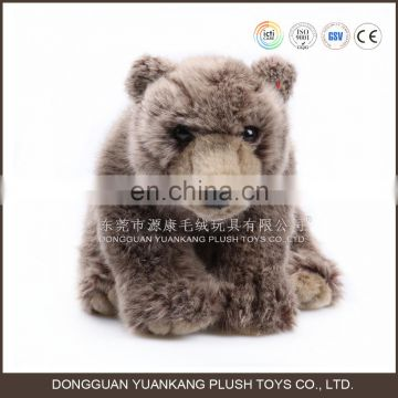 Wholesale Simulation Animal Plush Toy Grizzly Bear