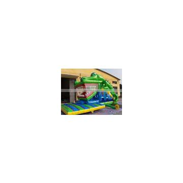 Inflatable Crocodile Slide with new design for sale