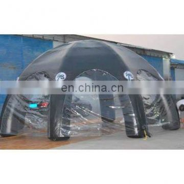 Inflatable tent, inflatable spider tent(with clear door),inflatable dome