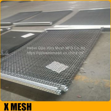 high strength crimped screen mesh for vibrating screen mesh