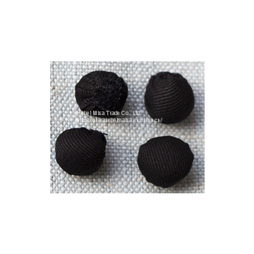 Hand Rolled Chef Buttons for chef uniform coat jacket apparel  cotton coarse twill  button
