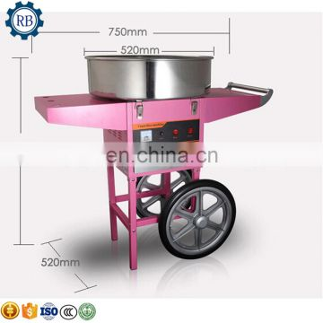 Manufacture Big Capacity Flower Cotton Candy Make Machine