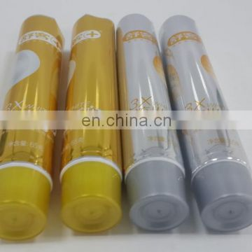 Luxury Cosmetic Packaging 100ml Toothpaste Tube Soft Collapsible Aluminum Plastic Laminated Tube