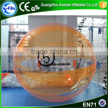 Hot sale inflatable growing water balls bubble ball water roller ball price for children