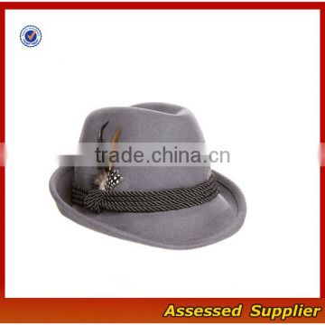 75cb5244df7a6 Custom high quality fedora wool hat man hat traditional oktoberfest german  felt hat with feather for oktoberfest festival of Hat from China Suppliers  - ...