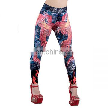 Sublimation printing yoga leggings, ladies gym wear hot sale in Canada