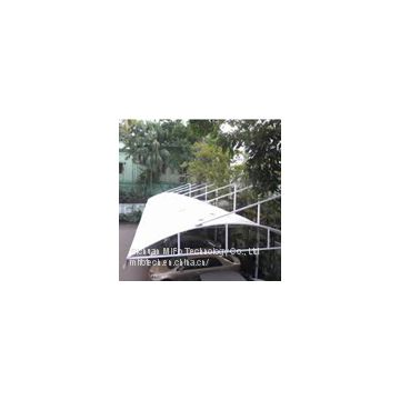Widely used pvc car parking shade