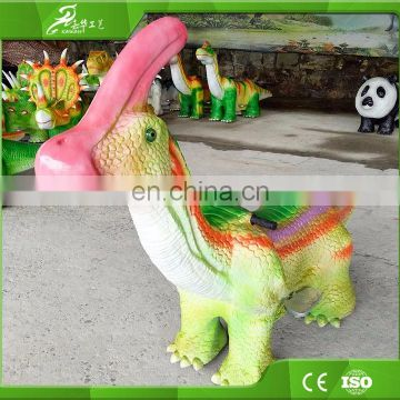 KAWAH Amusement Park Funny Games Animatronic Dinosaur Kiddie Ride