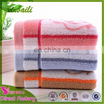 Supply Cartoon Jacquard Cotton Baby Towels