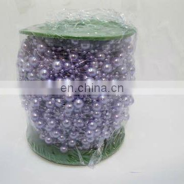 Purple Beaded Garland for Wedding Craft