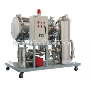 JT On line Coalescing Dehydration Used Turbine oil Recycling Machine