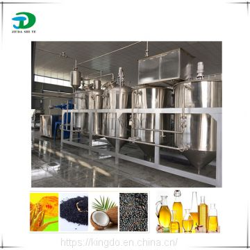 Crude oil refining plant, crude palm oil refinery machine, Sesame oil extraction refinery plant