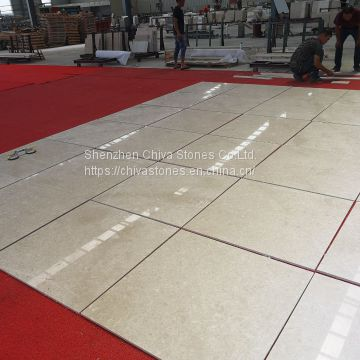 Beige Marble Floor Tiles Cream Beige Ivory Wall Facade Cladding Stone Tiles Cheap Bathroom Marble Tile