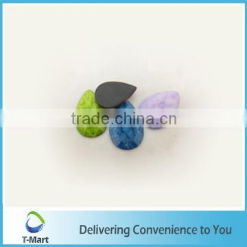 Decoration flat back Resin stones for shoes making