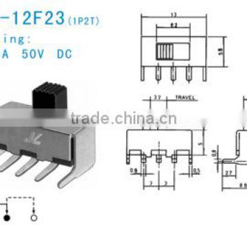 SS-12F23 slide switch
