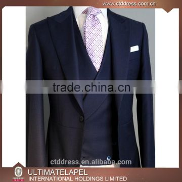 100% wool high quality slim fit bespoke suit made to measure tailor made suits                                                                                                         Supplier's Choice