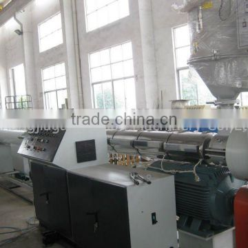 PE100 single screw pe pipe extruder machine