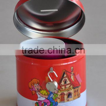 2017 Wholesale promotional stoneware cheap coffee mug with tin box packing