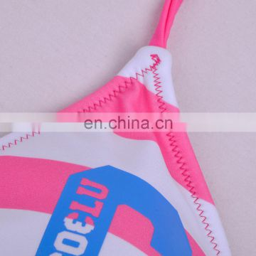 New Design Perfect Printed Polyester one piece transparent bathing suit sex picture nude women micro bikini