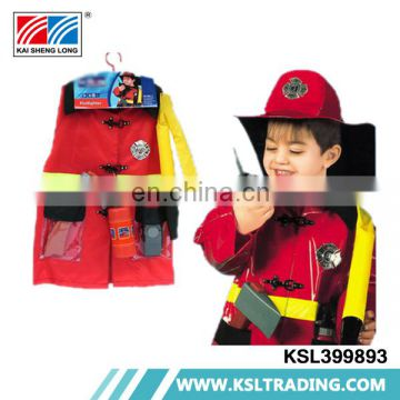 Cool items party clothes props suit kids fireman costume