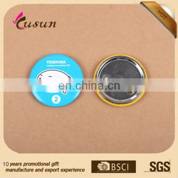 free design high quality magnet tin button badge