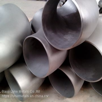 WPT2 Titanium EFW Welding pipe ASTM B 363 and pipe fittings astm b16.9