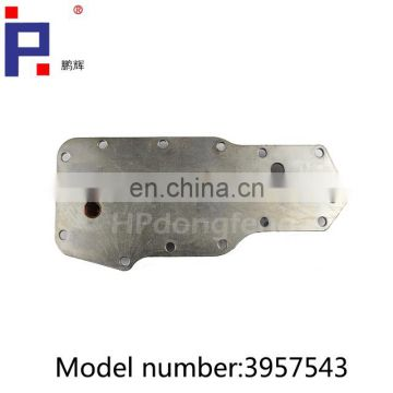 china oil cooler 3904320 3918292 3921557 3957543 of truck parts