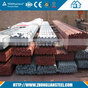 Professional supplier of 10*10mm-200*200mm iron steel slotted angle