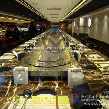 Customized supplier durable hot pot food belt conveyor systems