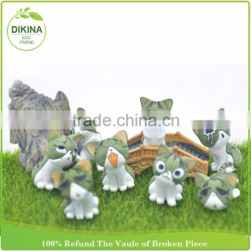 Assembly Dollhouse Diy Accessories Miniature Animal Plant Flower