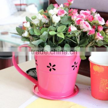 Galvanized Types Of Flower Vase Unique Plant Pots Flower Pot For