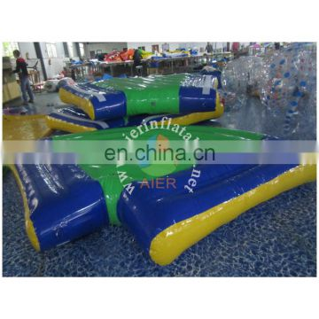 Inflatable Wi Bit water park design, inflatable pond water park, sea inflatable water park