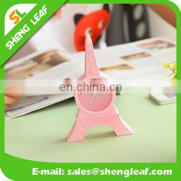 Plastic Mini Table Alarm Clock for Promotion Gift