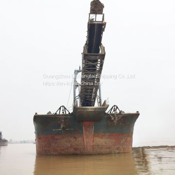 Sale: 5100T Inland Self-Unloading Sand Ship
