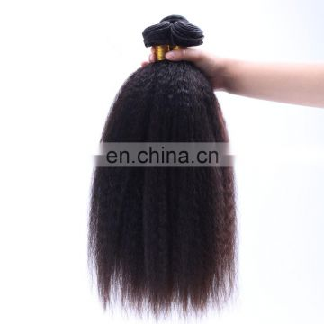 Natural curly hair extensions Italian yaki brazilian hair extension