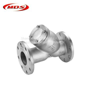 stainless steel class150 y strainer asme for oil